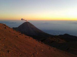 Ascenso al Nevado de Colima.