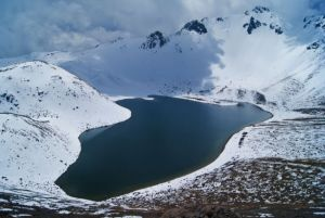 Ascenso al volcán Nevado de Toluca