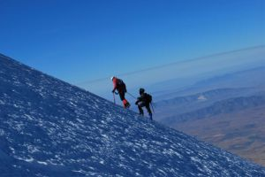 Ascenso al volcán Pico de Orizaba
